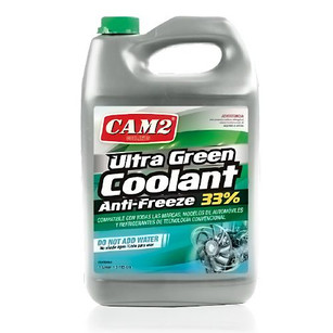 CAM2 ULTRA GREEN COOLANT ANTI -FREEZE 33%