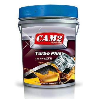 CAM2 TURBO PLUS SAE 25W-50 CF-4/SG