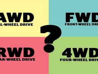 ¿Qué significan las nomenclaturas de los coches 4x4?