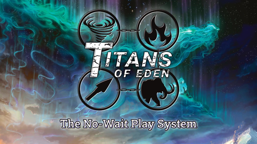 The No-Wait Play system keeps Titans Of Eden games exciting and engaging