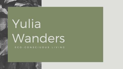 Branding Yulia Wanders