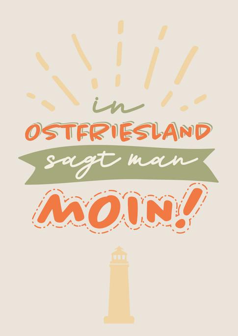 Postcards Ostfriesland