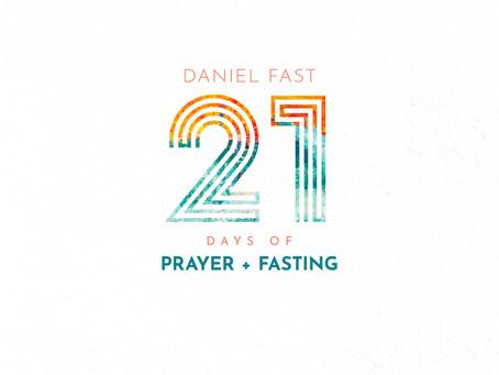 2020 Daniel Fast