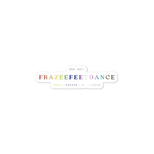 Frazee Feet Dance Sticker