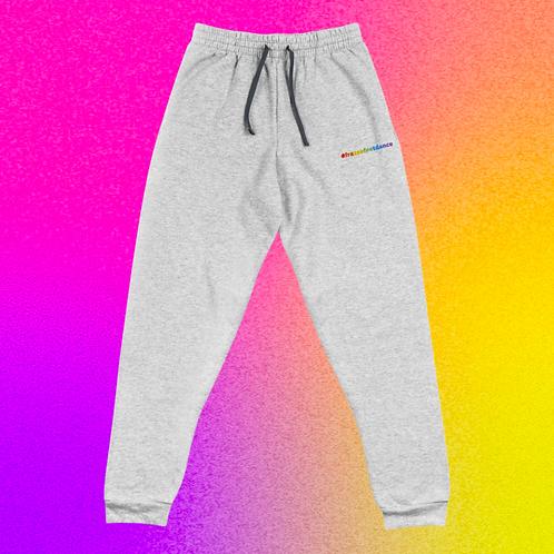 Rainbow Hashtag Joggers