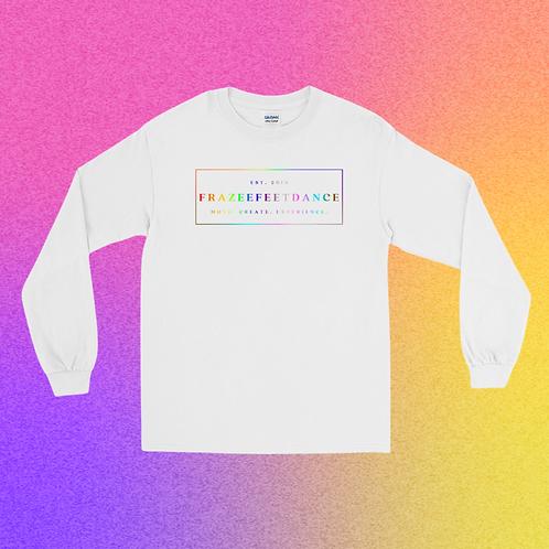 Rainbow Logo Long Sleeve Tshirt