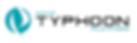 Typhoon logo Inkscape Turkoosi vector PN
