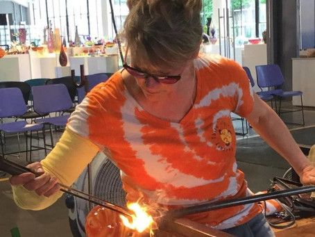 Third Degree Glass Factory Will Be Doing Live Blown Glass Demonstrations At Tower Grove Pride!