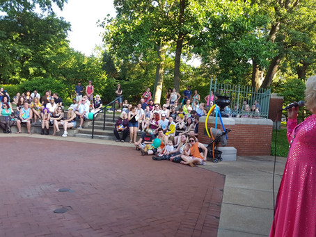 Check Out Our Performance Amphitheater And Cafe' Garden At Tower Grove Pride!