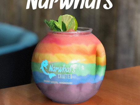 Narwhal's Crafted Is Chilling At Tower Grove Pride This Year!
