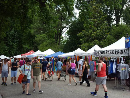 Tower Grove Pride Is Now One Of The Biggest Arts/Crafts Festivals In Saint Louis!