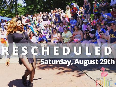 Tower Grove Pride Will Be Saturday, August 29th