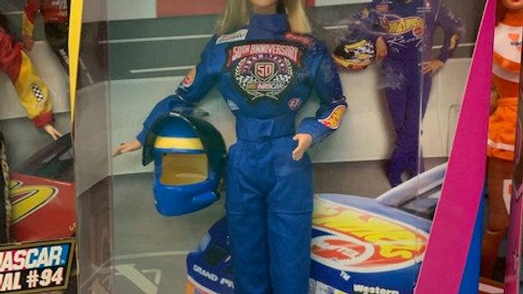 Barbie  Nascar 50th Anniversary