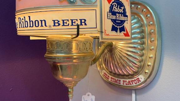 Ribbon Beer Lamp