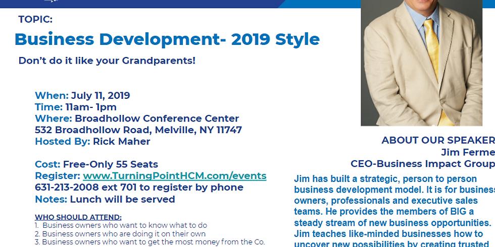 Business Development - 2019 Style
