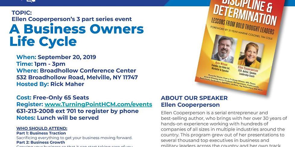 PRESENTING: Ellen Cooperperson's 3 Part Series Workshop