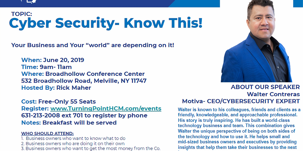 Cyber Security - Know This!