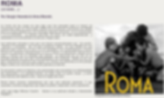 Roma review by Sergio Naveda