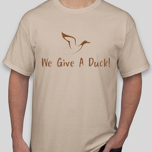 We Give A Duck (Tan)