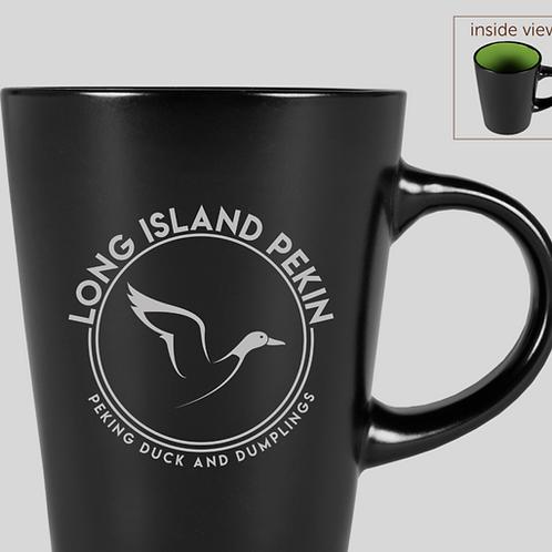 12 oz. LIP Mug (Green/Black)