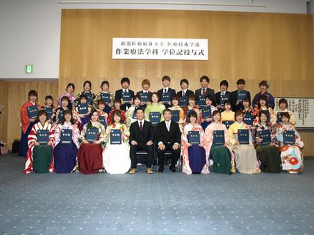 3月13日 平成最後の卒業式!!