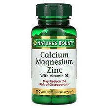 COVID 19 vITAMIN Calcium Magnesium Zinc with Vitamin D3, 100 Coated Caplets.jpg