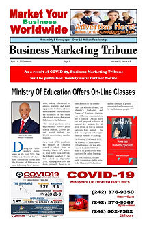 BMTribune April 6  2020  VOLUME 15, ISSU