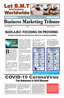 BMTribune April  2020 VOLUME 15, ISSUE 4