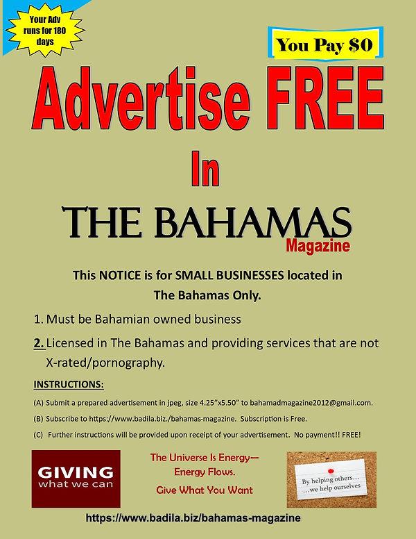 The Bahamas Magazine FREE ADVERTISING.jp