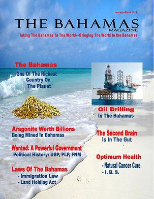The Bahamas Magazine JAN-Mar 2021 COVER