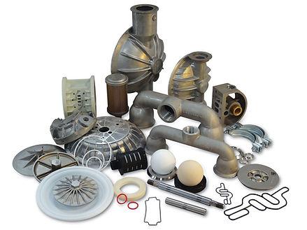 Diaphragm Pump parts