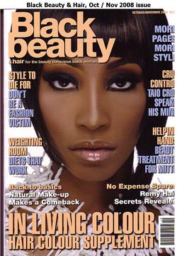 Black Beauty & Hair (UK) Oct 2008