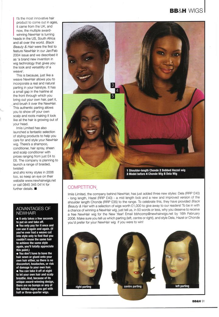 Black Beauty & Hair (UK) Feb 2006