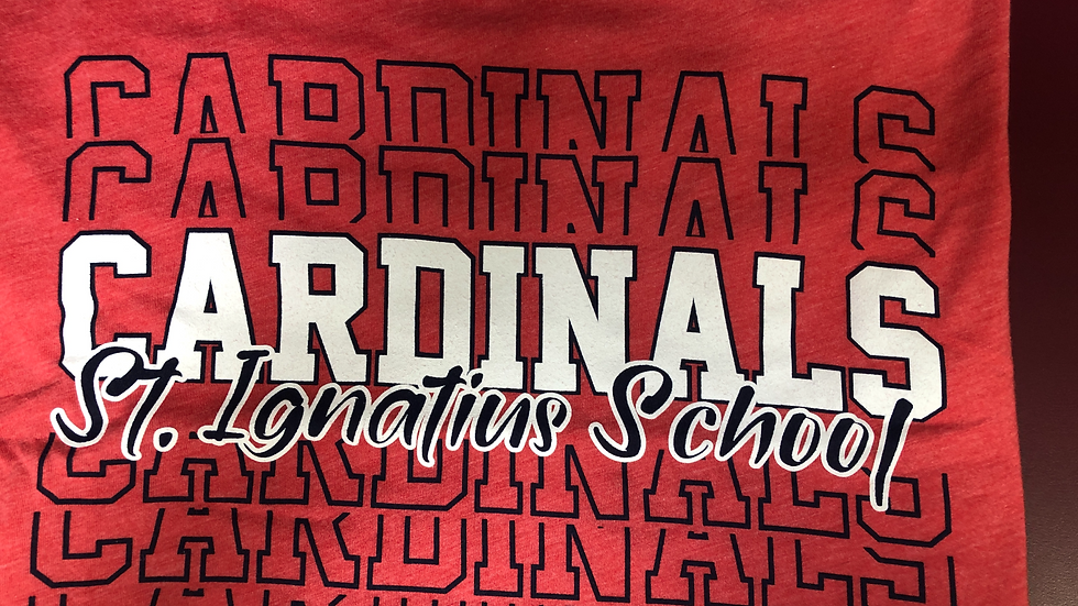 Cardinal Spirit Shirt - Red