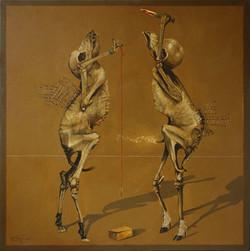 The pendulum dance