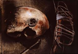 Pulled skull
