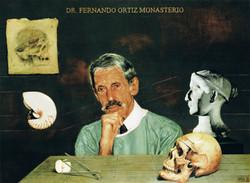 Portrait of Dr. Fernando Ortíz M.