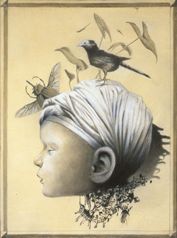 The child and the bird