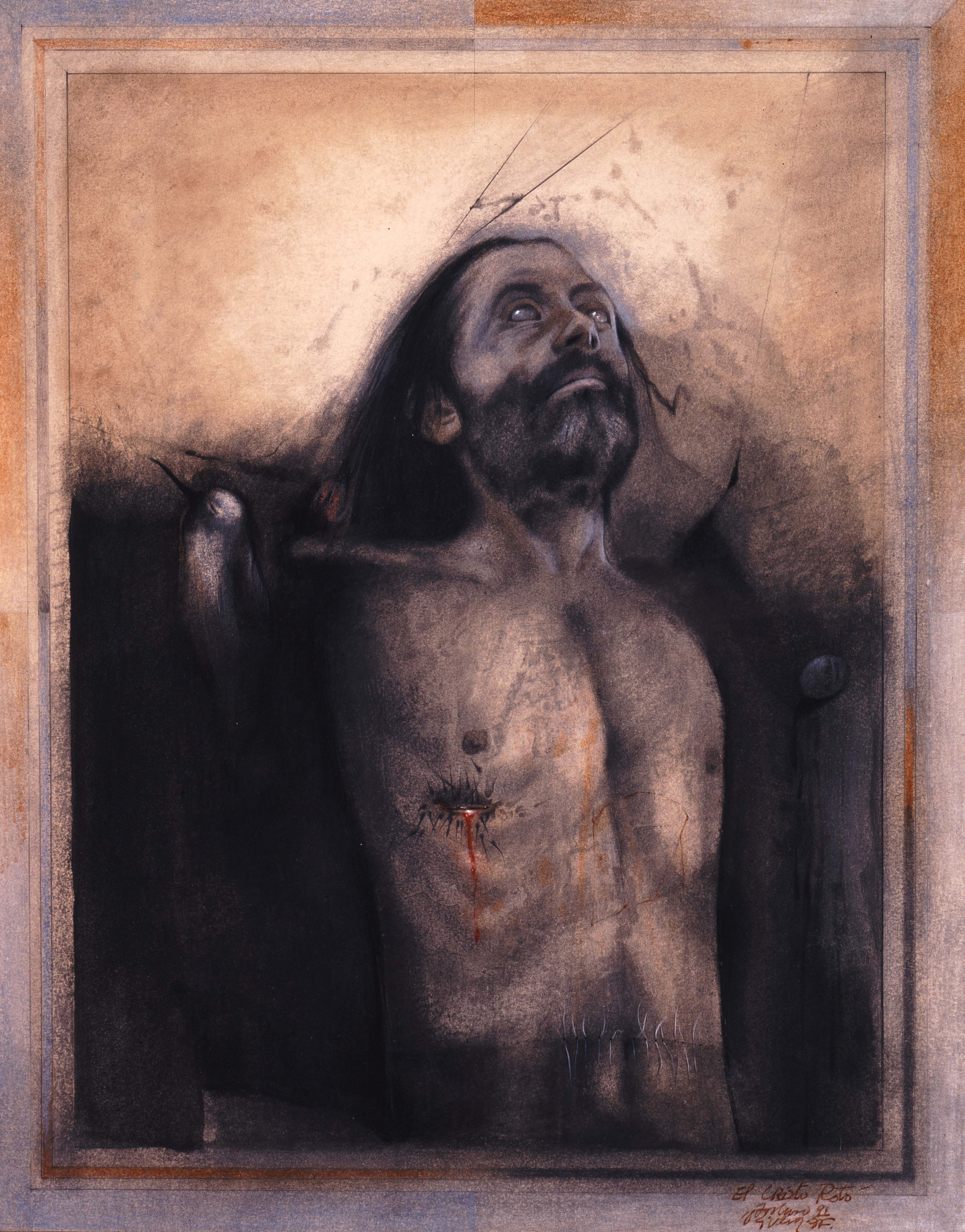 The Broken christ