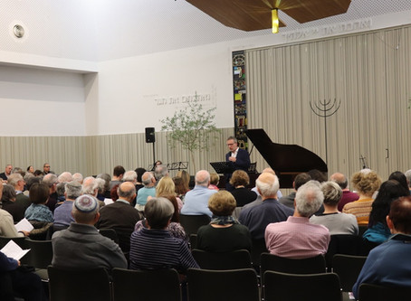 Concert at the New North London Synagogue