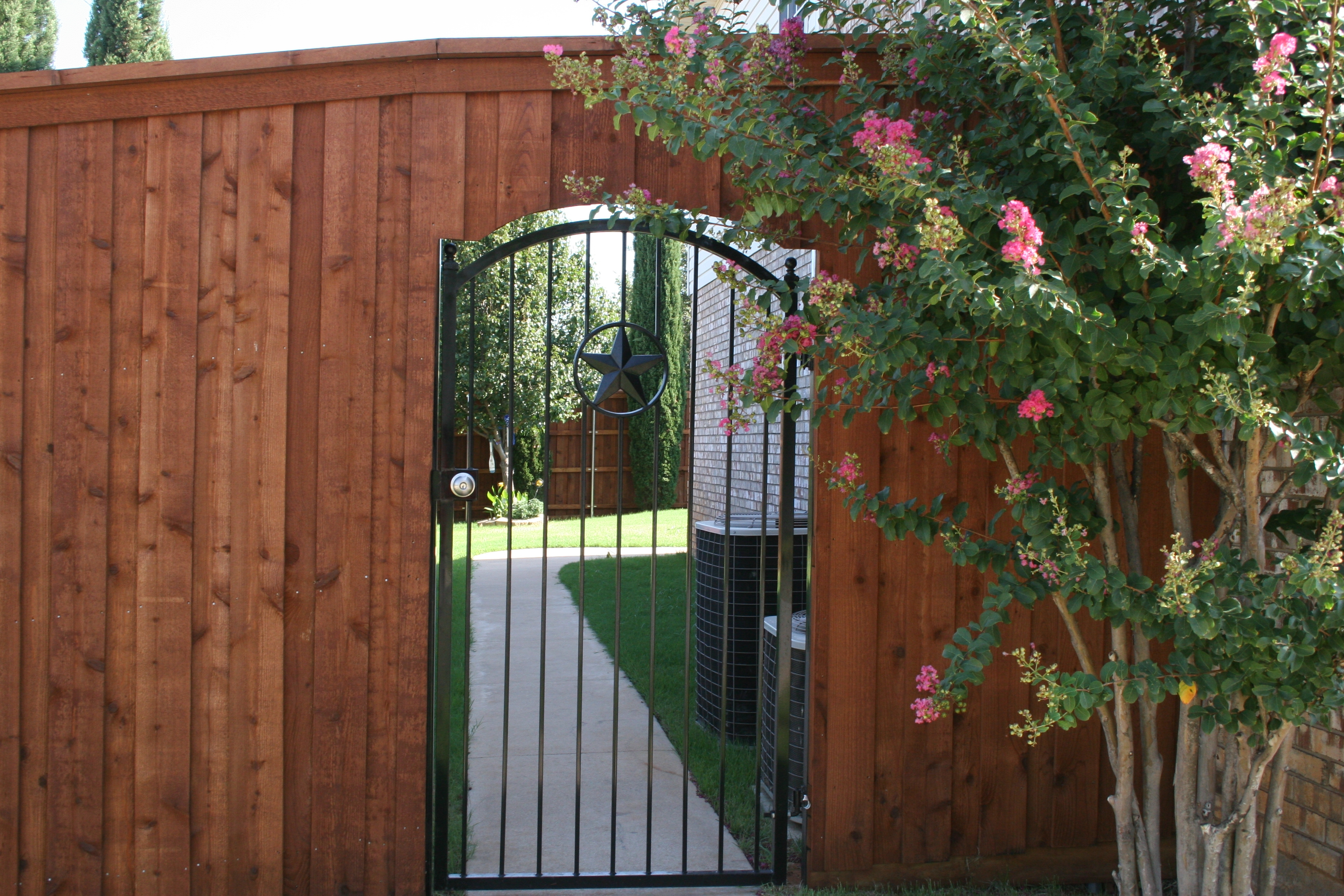 Customized Iron Gate