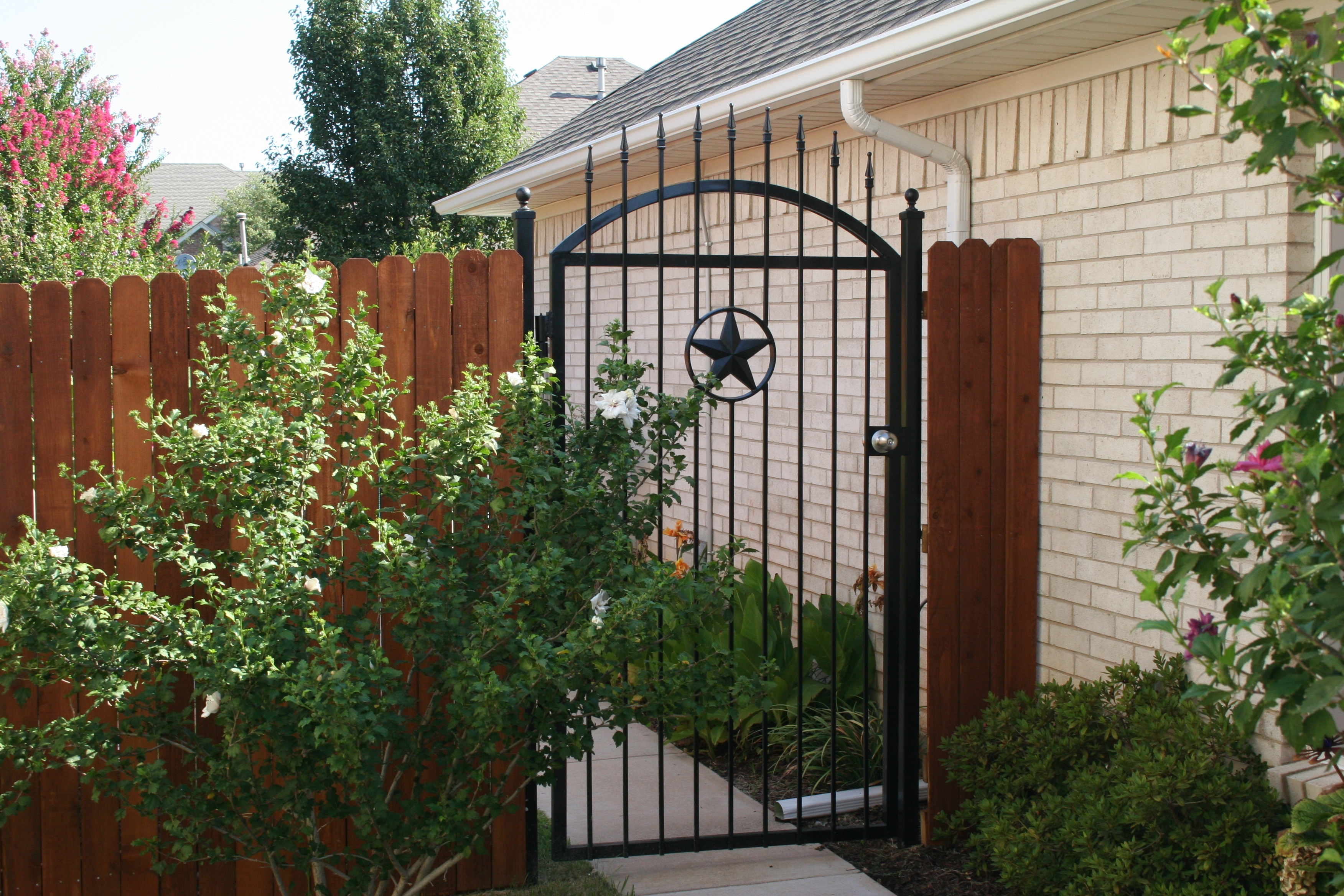 Metal Iron Gate
