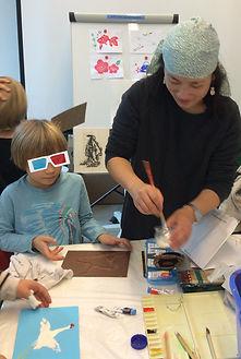 Atelier art japonais enfants