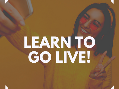 Go Live with Facebook Live