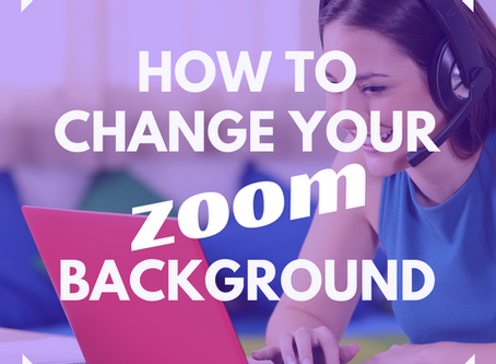 How To Change Your Zoom Background