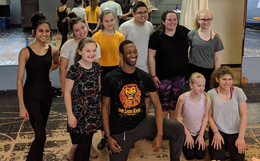 Masterclass with Eric Bean Jr from Cats