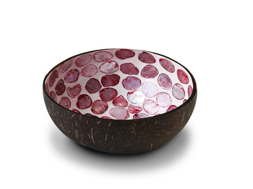 Noya bowl Purple Mother of Pearl