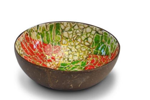 Noya bowl rood/lime egg