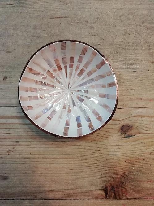 Coconut bowl mozaiek streep