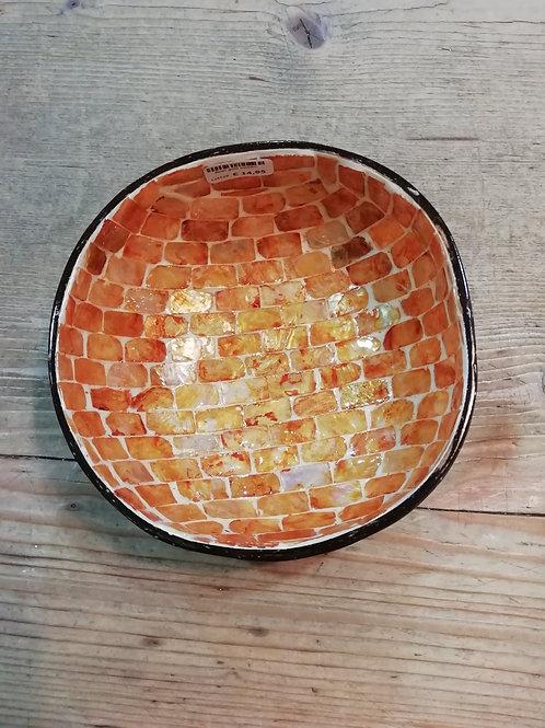 Noya bowl goud mosaic
